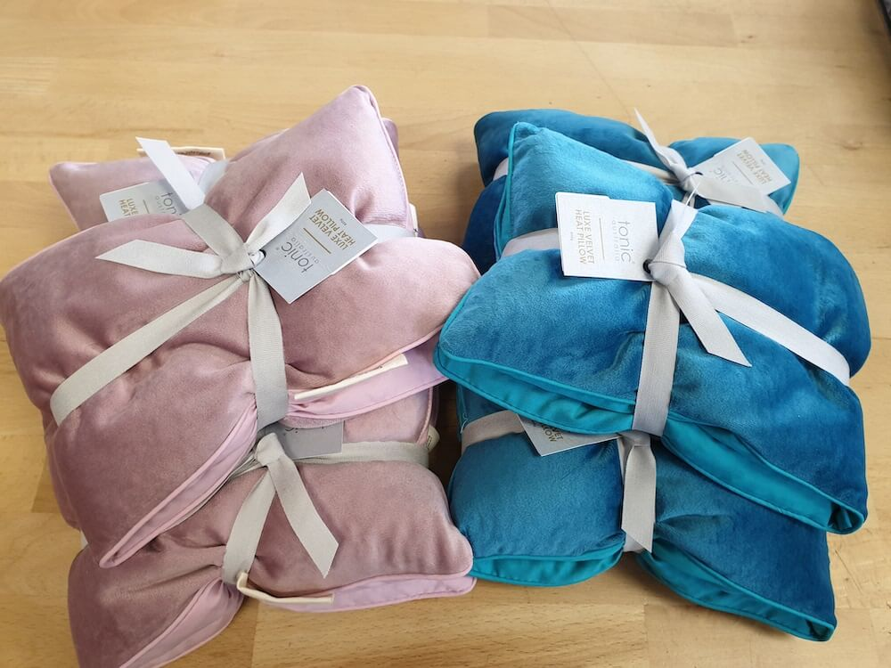 Tonic heat pillow